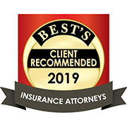 Americas Best Client Recommended Insurance Attorneys